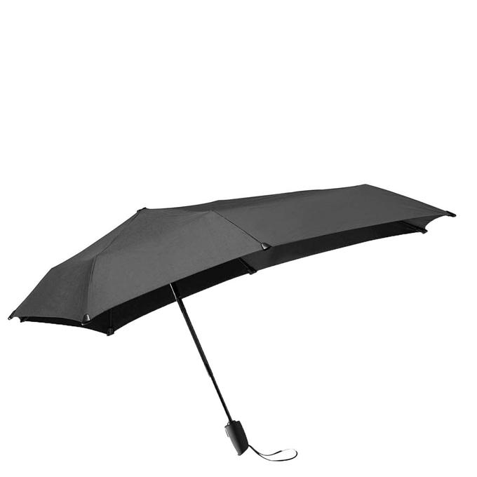 Senz Automatic Opvouwbare Stormparaplu pure black