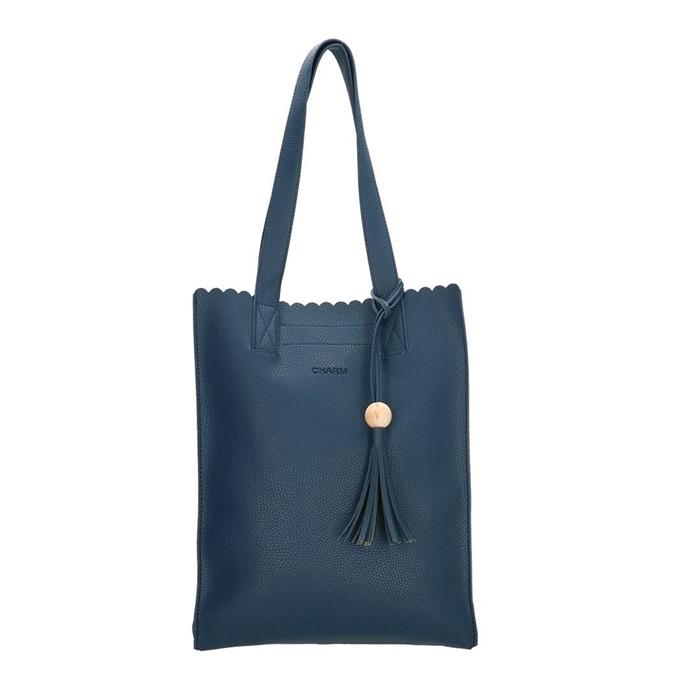 Charm London Covent Garden Shopper blauw II
