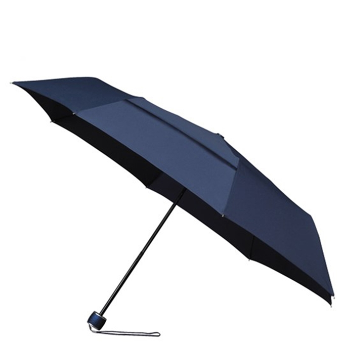 Impliva ECO Windproof Opvouwbare Paraplu navy blue
