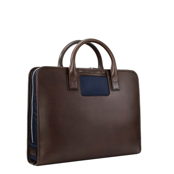 Travelteq Briefcase Original espresso/navy