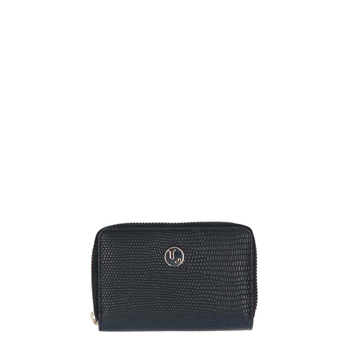 LouLou Essentiels Lovely Lizard Wallet XS light gold black2