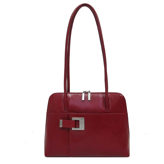 Claudio Ferrici Classico Shoulderbag red V