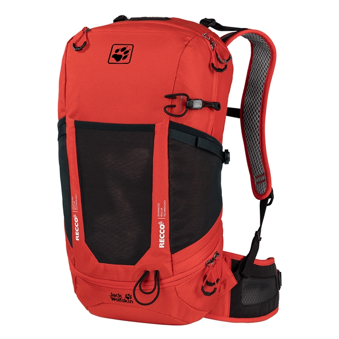 Jack Wolfskin Kingston 22 Pack Recco lava red - 1