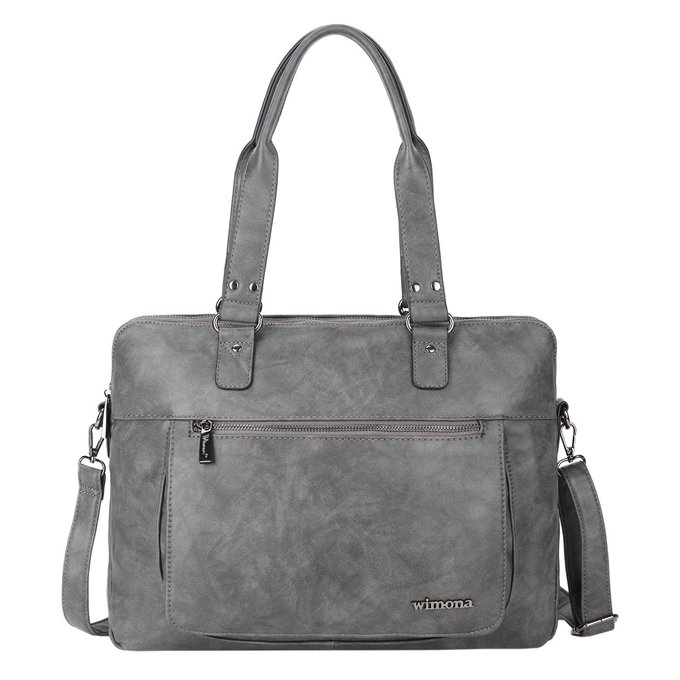 Wimona Verona Laptoptas 13,3'' grey