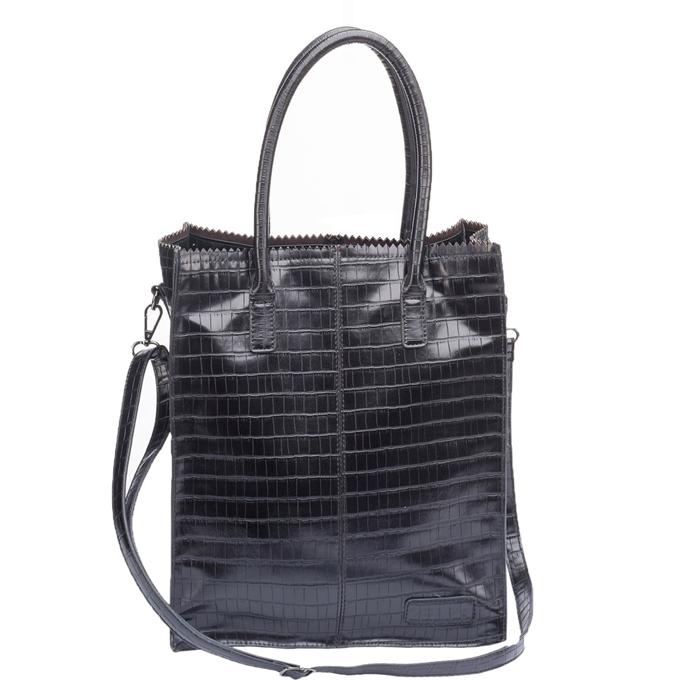 Zebra Trends Natural Bag Rosa black croco