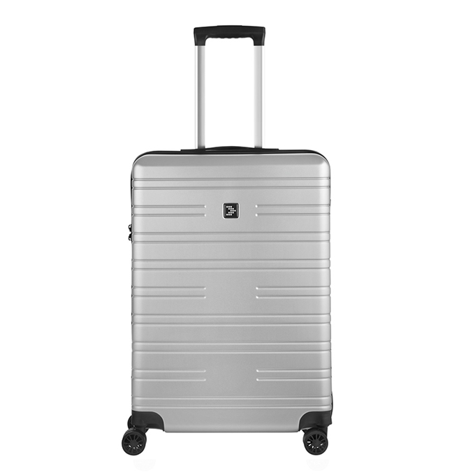Travelbags Premium Koffer - 64 cm - 4 wielen - silver - 1