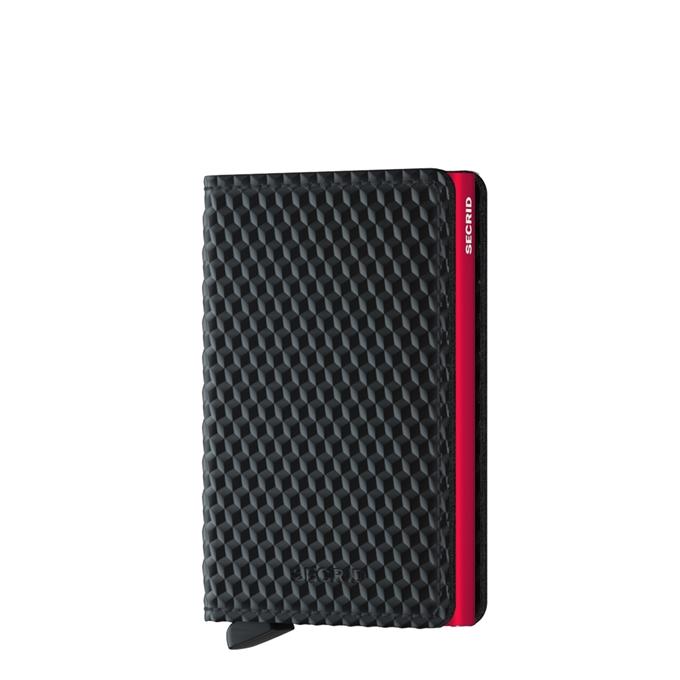 Secrid Slimwallet Portemonnee cubic black / red - 1