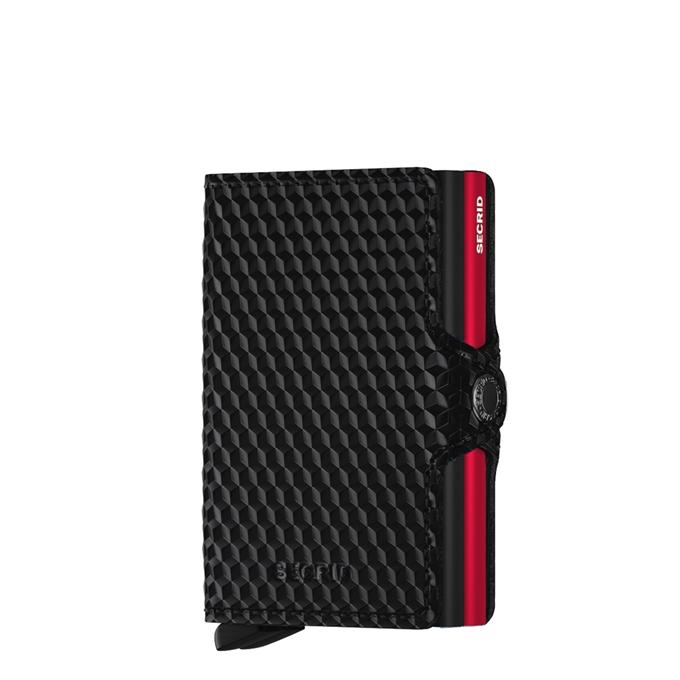 Secrid Twinwallet Portemonnee cubic black / red - 1