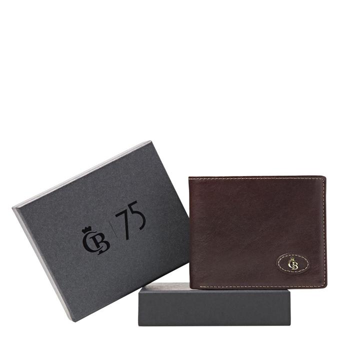 Castelijn & Beerens Giftbox Billfold mocca - 1