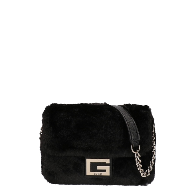 Guess Gwen Convertible Flap Crossbody black