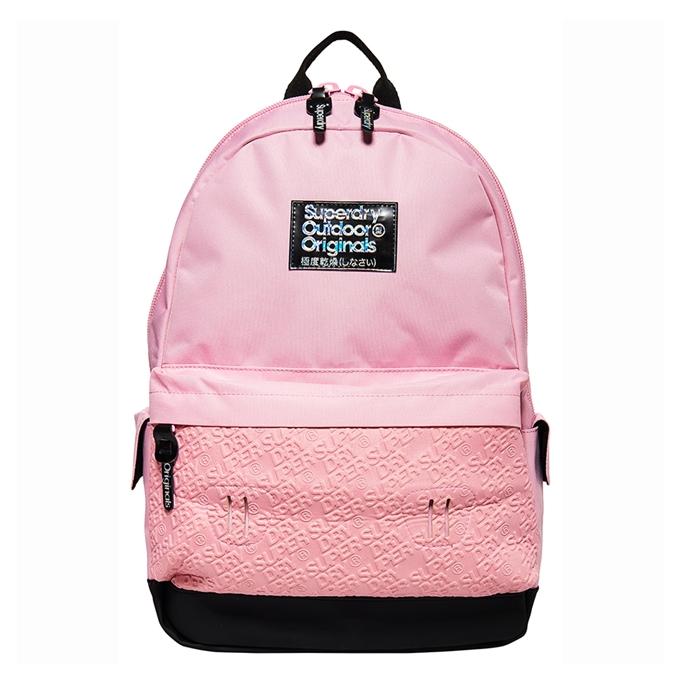 Superdry Montana Neoprene Mirror Backpack pale pink