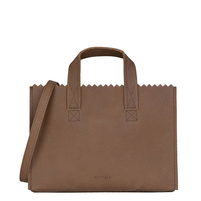 Myomy Paper Bag Mini Handbag Cross-Body hunter original