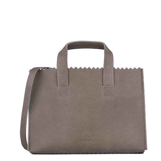MYoMY Paper Bag Mini Handbag Cross-Body hunter taupe - 1