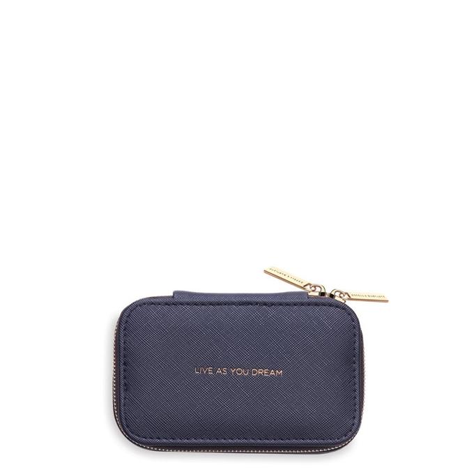 Estella Bartlett Mini Jewellery Box navy