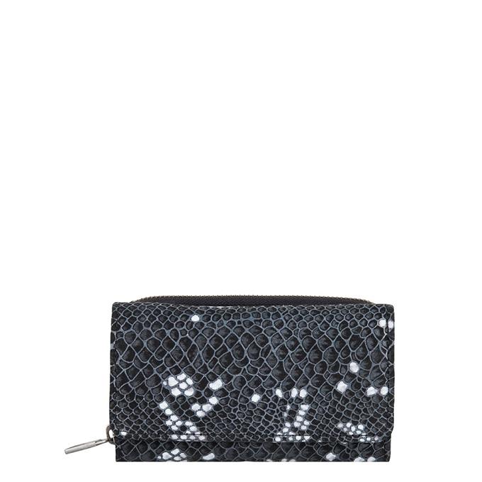 Cowboysbag x Bobbie Bodt Garnet Purse snake black and white