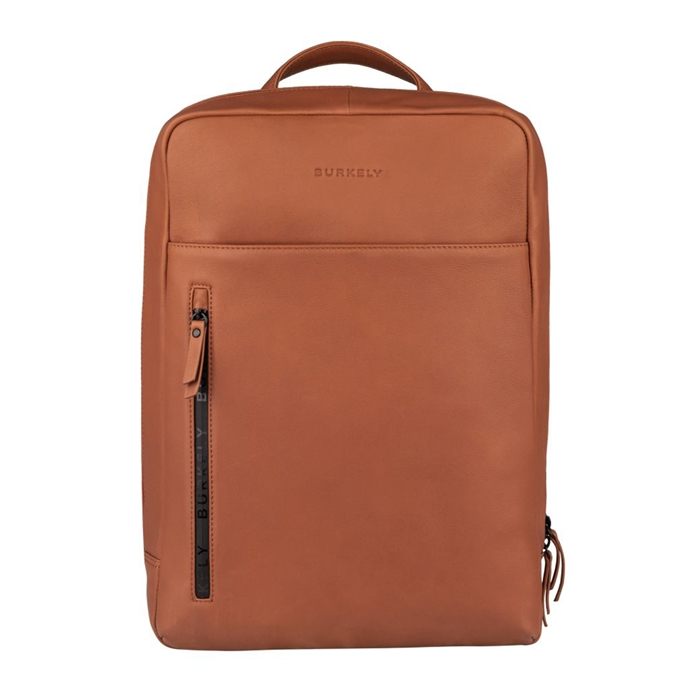 Burkely Rain Riley Backpack corroded cognac