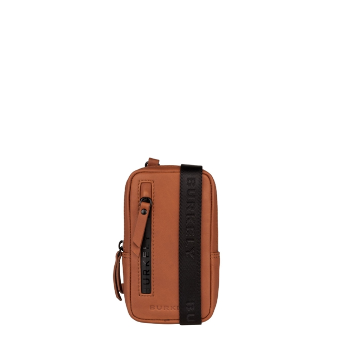Burkely Rain Riley Phone Bag corroded cognac