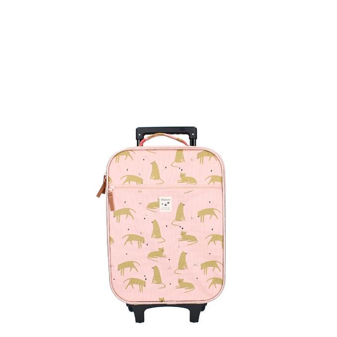 Kidzroom Trolley Koffer Cuddle pink