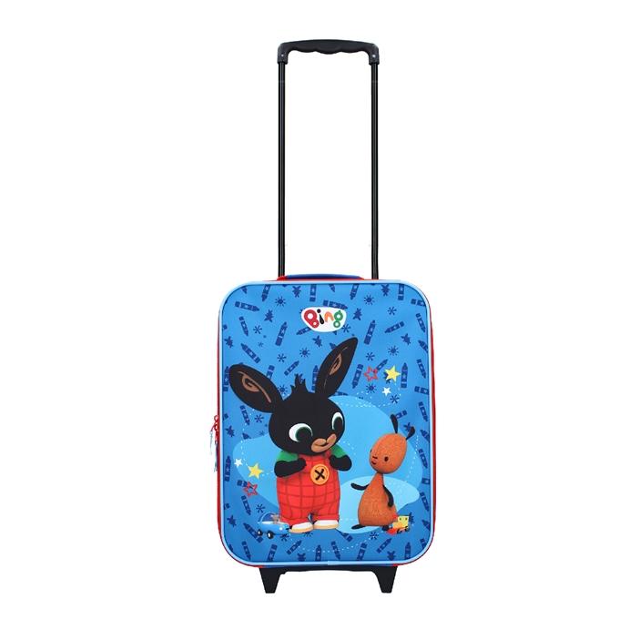 Disney Trolley Koffer Bing It's a Deal blue