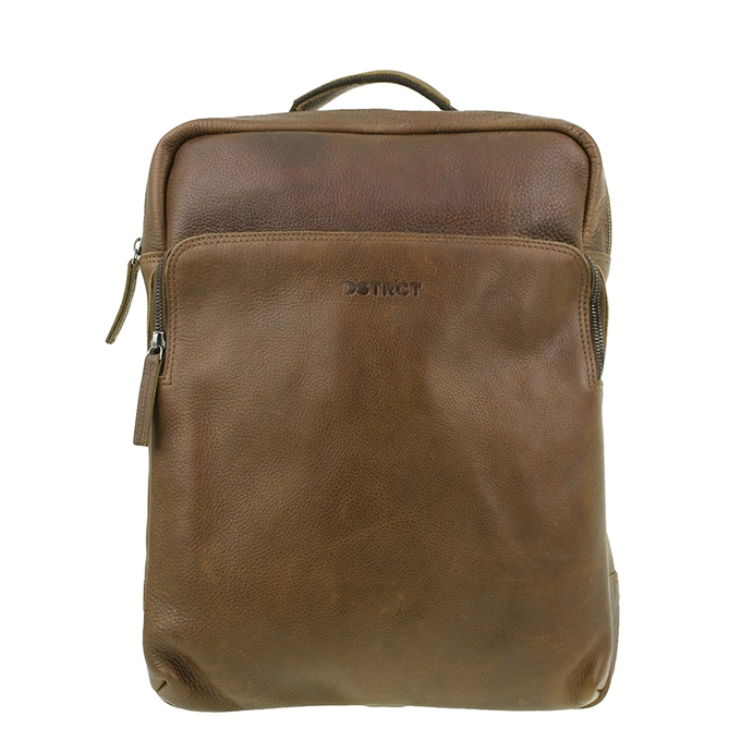 "DSTRCT Raider Road Montana Laptop Backpack 15.6"" cognac - 1"