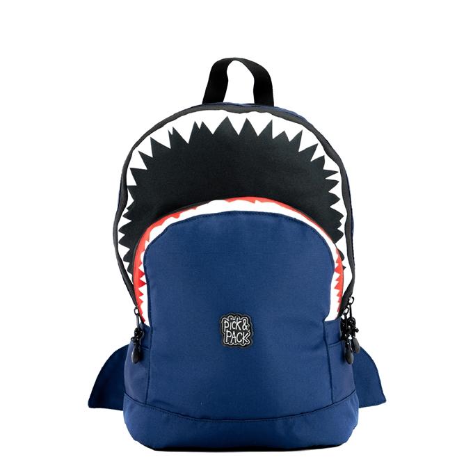 Pick & Pack Shark Shape Backpack M navy
