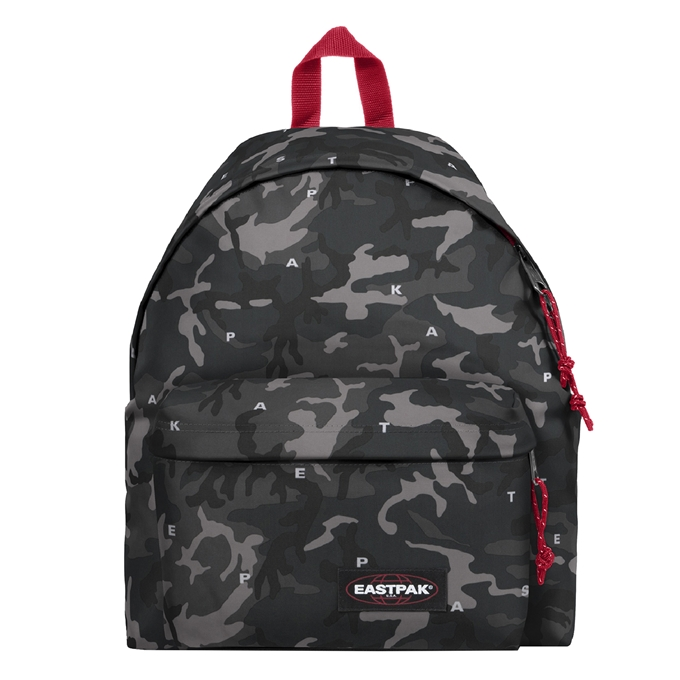 Eastpak Padded Pak'r Rugzak on top red - 1