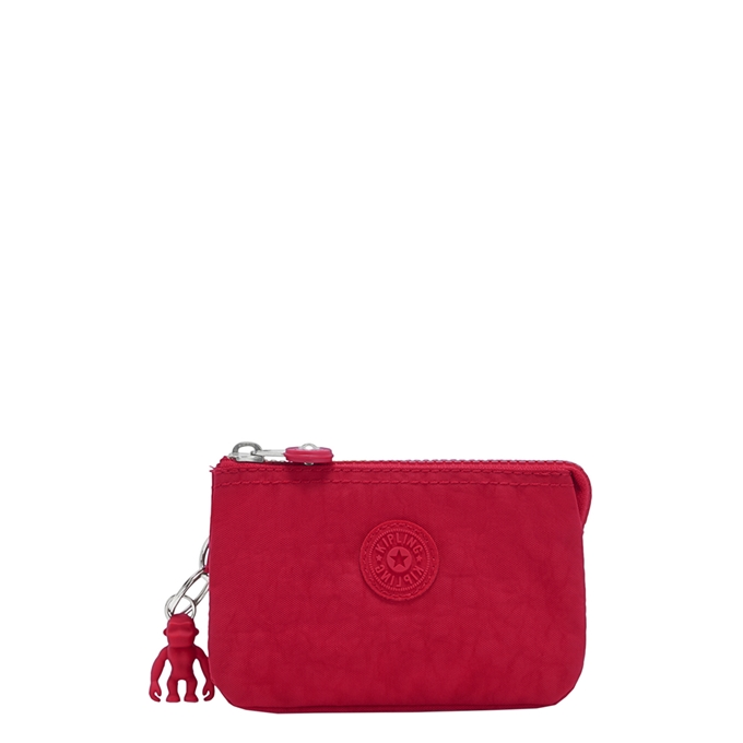 Kipling Creativity S Portemonnee red rouge