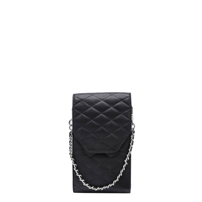 MOSZ Phone Bag Quilted black