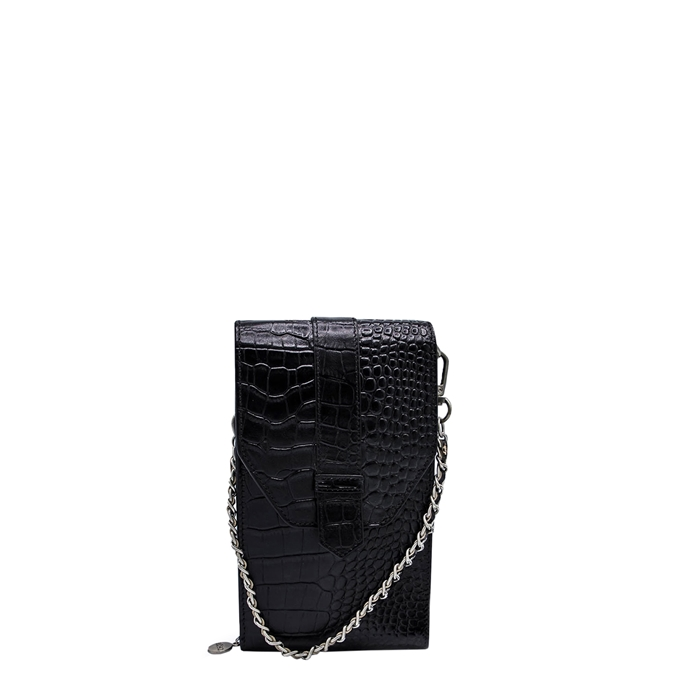 MOSZ Phone Bag Croco black