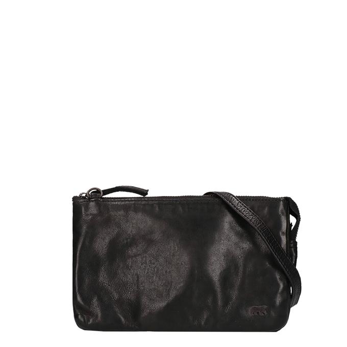 Bear Design Cow Lavato Clutch zwart - 1