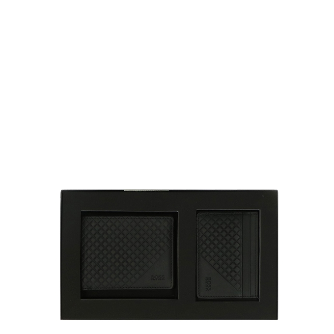 Hugo Boss 6cc Wallet and CC Holder Giftbox black - 1