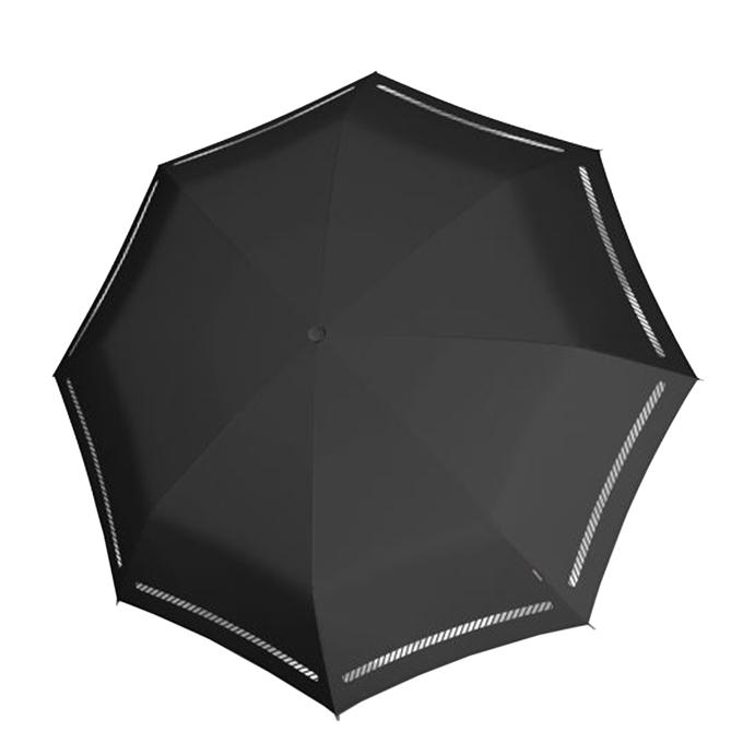 Knirps T-200 Medium Duomatic Paraplu reflective black