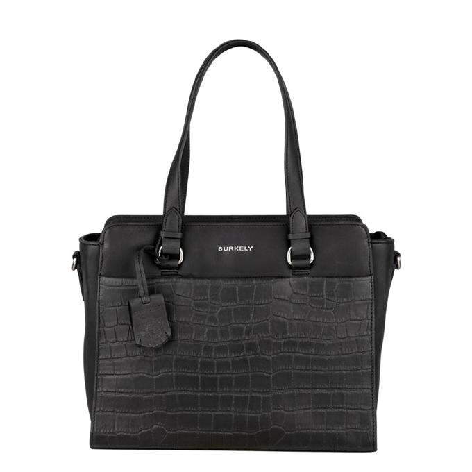 Burkely Croco Caia Handbag S black - 1