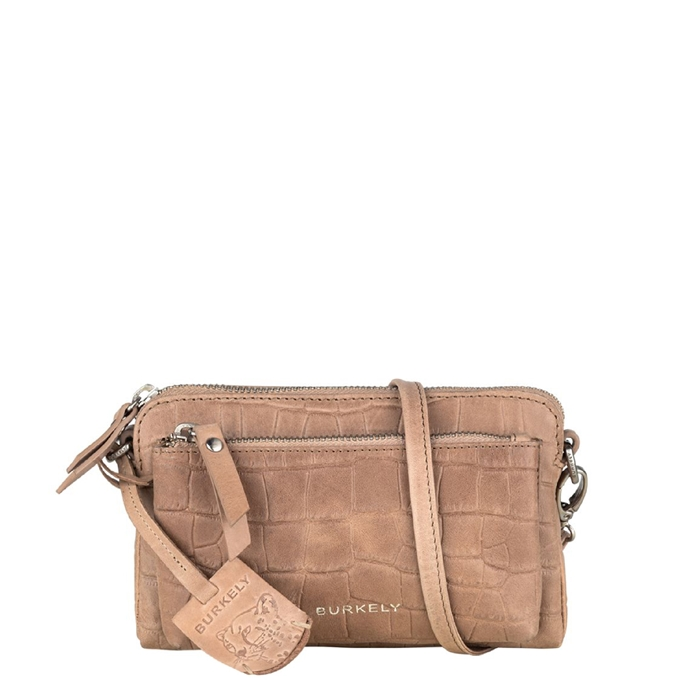 Burkely Croco Caia Minibag dusty sand - 1