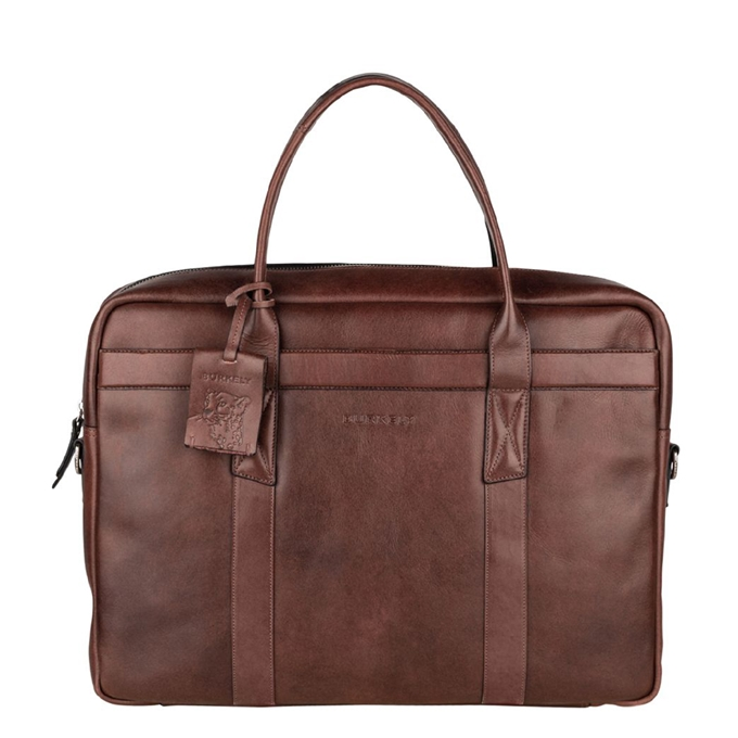 "Burkely Suburb Seth Laptopbag 15.6"" brown - 1"