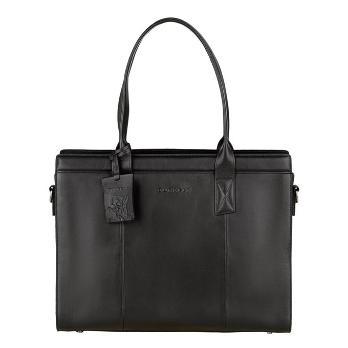 "Burkely Suburb Seth Handbag M 14"" black - 1"