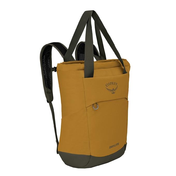 Osprey Daylite Tote Pack teakwood yellow