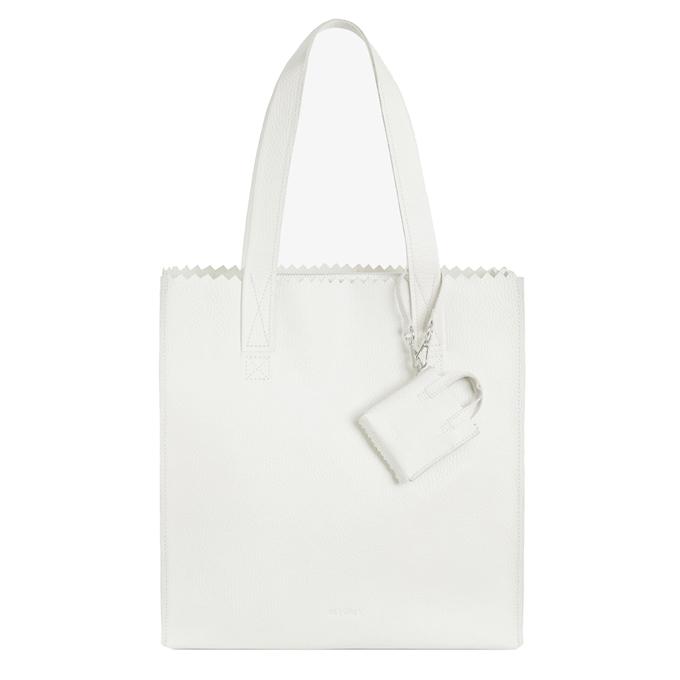 MYoMY My Paper Bag Square Shopper rambler off white
