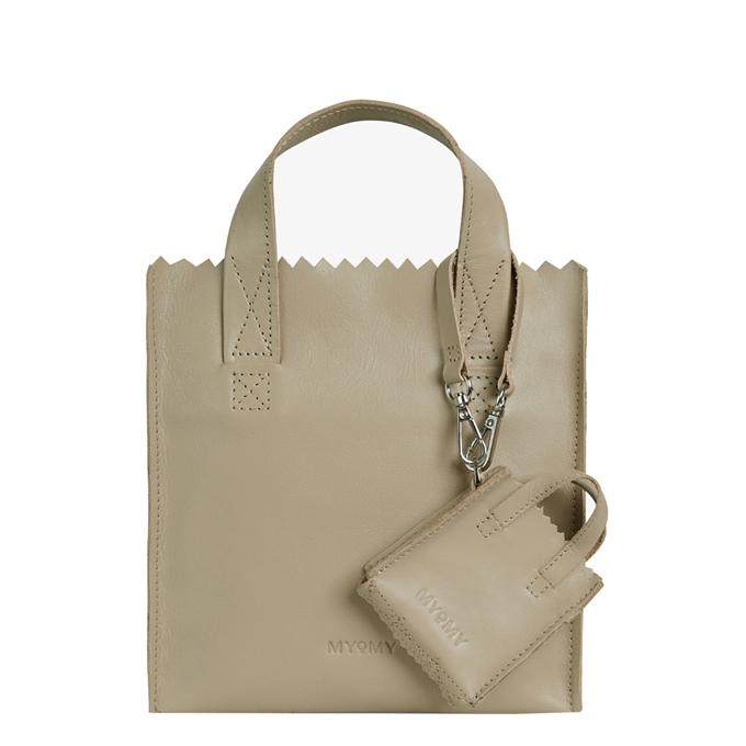 MYoMY My Paper Bag Square Mini sand - 1