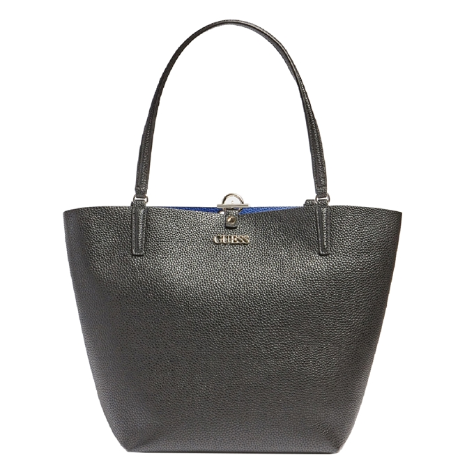 Guess Alby Toggle Tote black/blue