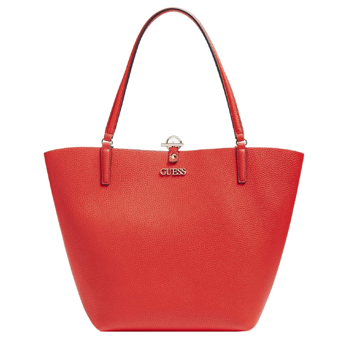 Guess Alby Toggle Tote red/rosewood
