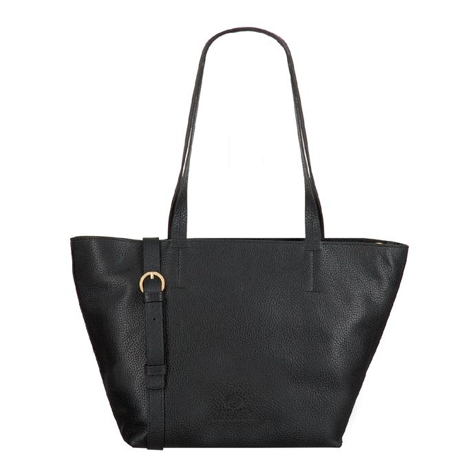 Fred de la Bretoniere Handbag Grain Leather black