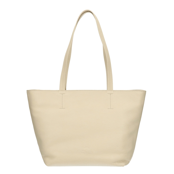 Fred de la Bretoniere Handbag Grain Leather off white