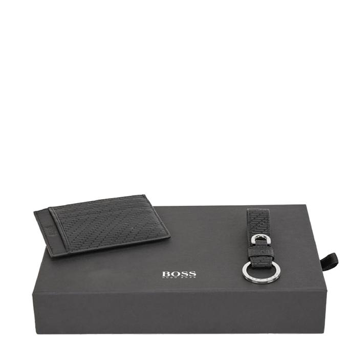 Hugo Boss Gift Box Geometric Leather black