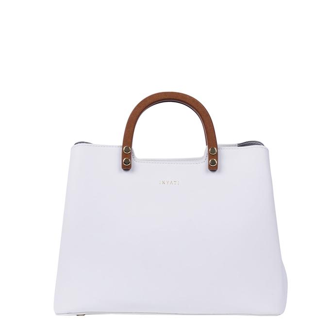 Inyati Inita Top Handle Bag white - 1