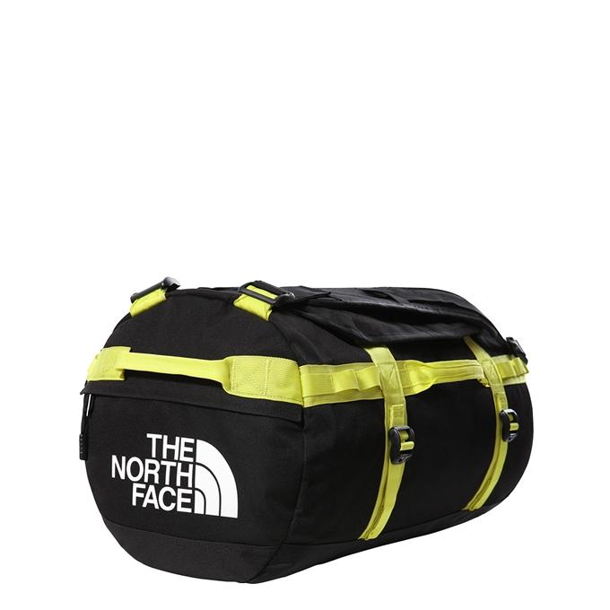 The North Face Gilman Duffel S tnf black/sulphur springgreen