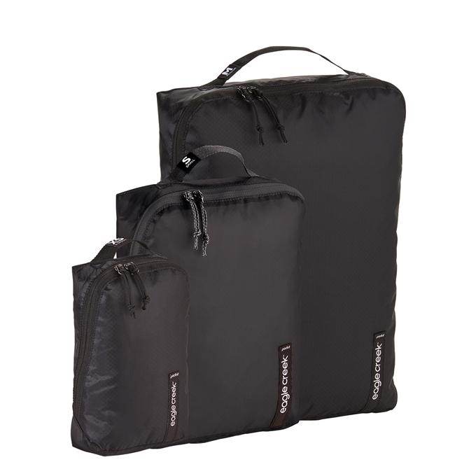 Eagle Creek Pack-It Isolate Cube Set XS/S/M black