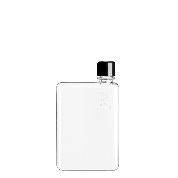 Memobottle A6 Bottle 375 ml clear