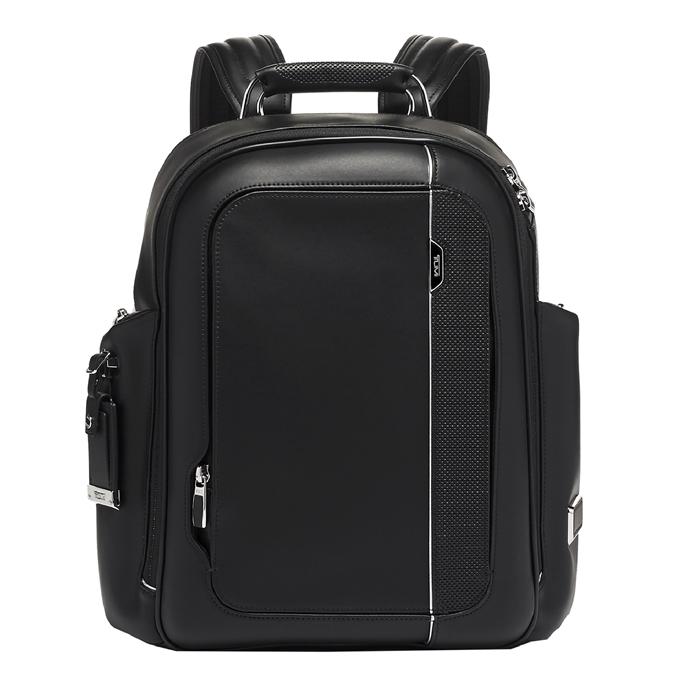 Tumi Arrivé Larson Backpack black leather - 1