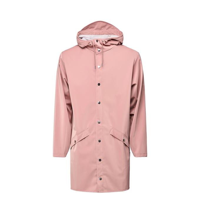 Rains Long Jacket Regenjas S/M blush